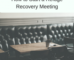 How to Start a Refuge Recovery Meeting